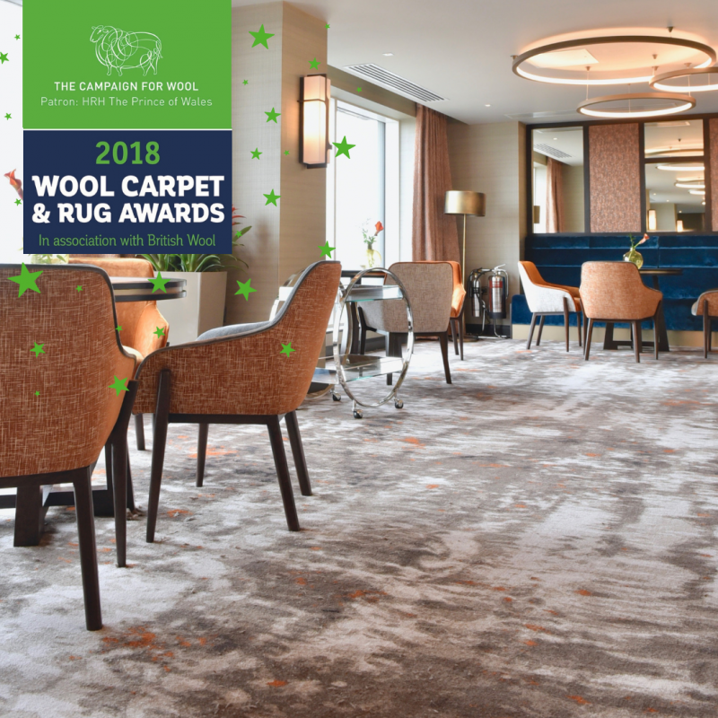 Success For Ulster Carpets At The Wool Carpet And Rug